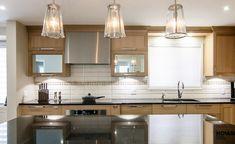 Armoires de cuisine - Chêne chic - Armoires de cuisines Québec | Clé en main… My Dream Home, Kitchen Cabinets, Design, House, Home Decor, Kitchen Armoire, Home Ideas, Wardrobes, Home