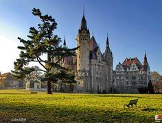 Zamek (Centrum Terapii Nerwic, Wojewódzki Ośrodek Profilaktyczno-Sanatoryjny, Schloß), Moszna - zdjęcia