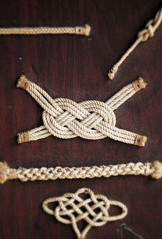 Nautical Knots for craft ideas