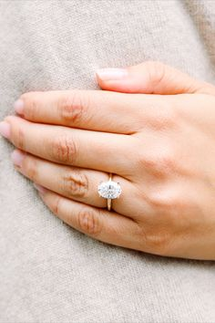 Oval Shaped Engagement Rings, Oval Solitaire Engagement Ring, Beautiful Engagement Rings, Hand Jewelry, Wedding Things, Dream Wedding, Oval Diamond, Ring Finger, Pretty