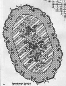 Oval Tablecloth, Crochet Tablecloth, Crochet Doilies, Filet Crochet Charts, Crochet Designs, Table Runners, Tablecloths, Coasters, Crochet Carpet