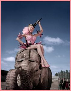 Gloria Grahame - The Greatest Show on Earth... One of my fave movies