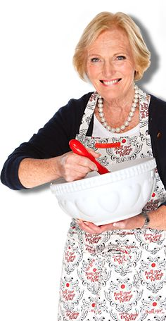 Great British Bake Off's Mary Berry urging everyone to Bake   Red Nose Day 2013