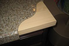 Engineered Granite Overlay Countertops: Budget friendly granite surface that installs over the top of old counters & doesn't have grout lines like granite tile! Also perfect for quick installations.- maybe for an inexpensive kitchen redo? Kitchen Redo, Kitchen Styling, Kitchen Remodel, Kitchen Ideas, Kitchen Counters, Kitchen Designs, Granite Overlay Countertops, Countertop Redo, Install Laminate Countertops