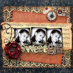 sweet girl Graphic 45