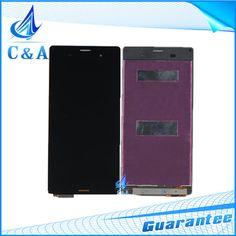 5.2 inç sony xperia z3 l55t d6603 için orijinal ekran D6653 LCD Ekran Dokunmatik Digitizer Meclisi 1 Parça Ile Ücretsiz nakliye