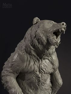 3D print of a big bear sculpture - Projects & Prints - Formlabs Community Forum
