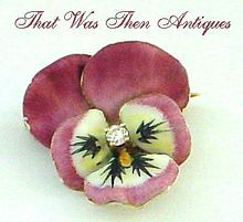 My favorite antique pansy!