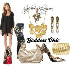 """""""Everyday Chic by Goddess Chic"""" by sapphire-kharyzma on Polyvore"""