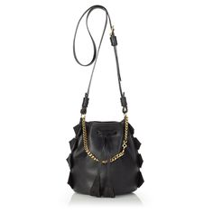 GG Maull Baby Bombshell Bucket in Black Leather.