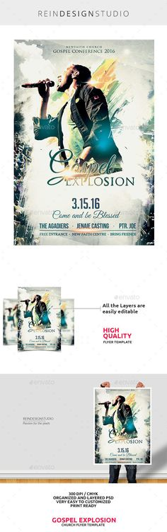 Company Health Fair Flyer, Graphic Design School Health Fair - conference flyer template