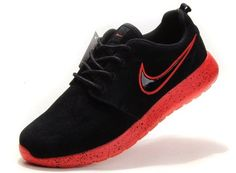 newest collection 6cf4a b68cf Nike Roshe Run Wool Fur Red Black for Women s Shoes, AUD   90.85   www