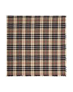 4659d9f6184e Burberry - Castleford Lightweight Check Scarf