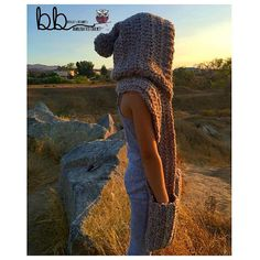 Hooded Scarf Warmer PATTERN ONLY Crochet Size by BeccasBeanies