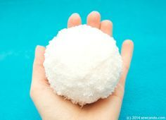INDOOR SNOWBALL FIGHT -  Sew Can Do: Tutorial Time: Make An Indoor Snowball Fight Set