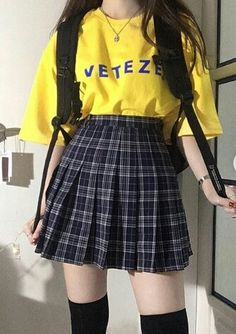 Kawaii fashion, ulzzang fashion, cute fashion, fashion outfits, korea f Harajuku Mode, Harajuku Fashion, Kawaii Fashion, Cute Fashion, Teen Fashion, Fashion Outfits, Style Fashion, Korean Fashion Trends, Asian Fashion