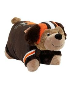 Fabrique Innovations Cleveland Browns Team Pillow Pet - Team Color
