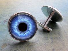 """""""I see you"""" Deine Augen Manschettenknöpfe  von Buy My Baby auf DaWanda.com"""