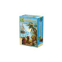 """Carcassonne: Mares del Sur  Carcassonne: Mares del sur es el primer juego de una nueva serie llamada """"Around the world - Alrededor del mundo"""", una nueva colección de juegos totalmente independientes y jugables por si mismos ambientados en diferentes escenarios."""