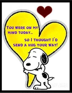 Snoopy Hug, Snoopy Love, Snoopy Quotes Love, Hug Quotes, Love Quotes, Funny Quotes, Great Friends Quotes, Special Friend Quotes, Unique Quotes