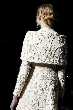 Close at Valentino Haute Couture Spring/Summer 2013.