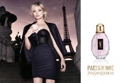 Kate Moss for @Yves Bonis Conseil Saint Laurent perfume 'Parisienne' ~ one of my favourites!