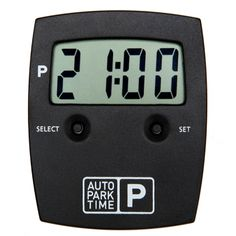 Automatisk P-skiva Autoparktime Cooking Timer, Finland, Gadgets, Chicago, Scale Model, Gadget