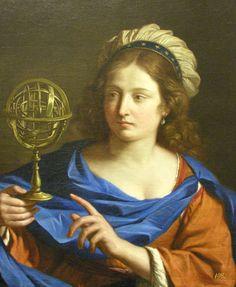 Guercino - personificazione di Astrologia - Blanton Museum of Art