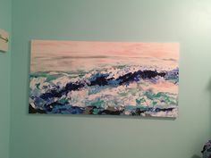 Sea scape Acrylic painting