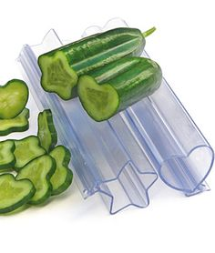 "Vegetable molds. I simultaneously thought: ""These are weird."" and ""I think I want them."""