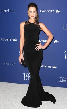 Kate Beckinsale from The Big Picture: Today's Hot Pics  The actress stuns on the carpet atthe 18th Costume Designers Guild Awards in Beverly Hills.