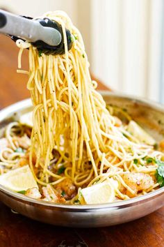 Garlic Butter Shrimp Pasta – Quick & Easy!