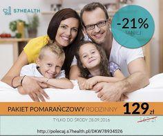 Pakiet pomarańczowy rodzinny - PROMOCJA