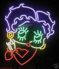 neon betty boop