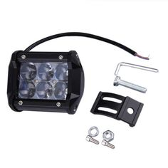 New 4D 30W Car LED Work Lamp ATV Off-road SUV Driving Spotlight Bar Lamp Item Type: Light Sourcing Color Temperature: 6000K Car Brand: For Volkswagen Light Source: LED Led Beam Type: Spot Car Model: F