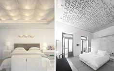 Ideas para decorar dormitorios con techos diferentes | DECOFILIA.com