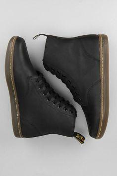 dr. martens men's fashion women's fashion shoes style boots black alfie www.dripcult.com