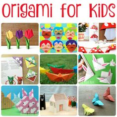 We LOVE Origami for Kids and it isn't as hard as it looks. You just have to select the right Easy Origami for Kids projects and off you go.A great selection