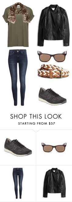 """""""Kaki spring feel"""" by lone-haure-norrevang on Polyvore featuring Ray-Ban, H&M and Givenchy"""