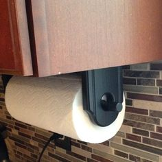 Under The Cabinet Paper Towel Holder Awesome Hand Forged Rebar Paper Towel Holder  Under Cabinet Mount  Paper Inspiration