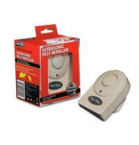 £10.95 - Pest Stop Ultrasonic 1000 An advanced ultrasonic repeller with separate settings for mice, rats and other crawling insects. The Pest-Stop 1000 uses fluctuating ultrasonic waves to cause auditory stress to pest