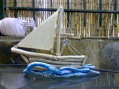 driftwood art...and more: Wooden handmade ships/Driftwood ships