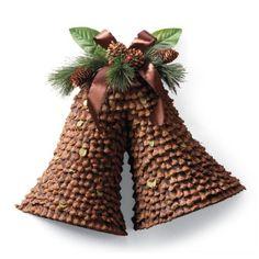 Pinecone Bells - rustic & charming