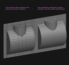 FAQ: How u model dem shapes? Subd mini-tuts AKA USE THE RIGHT AMOUNT OF GEO - Page 220 - Polycount Forum