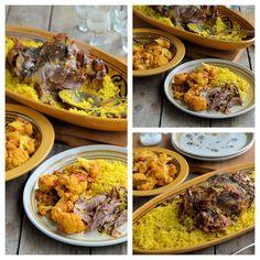 Persian Lamb Collage - Lavender and Lovage Unique Recipes, Organic Recipes, Ethnic Recipes, Microwave Dishes, Slow Roast Lamb, Chocolate Truffle Cake, Spiced Cauliflower, Seasonal Food, Lamb Recipes
