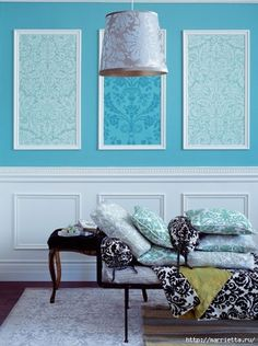 Decorate bare walls with framed wallpaper panels Wallpaper Panels, Wallpaper Decor, Modern Wallpaper, Framed Wallpaper, Bedroom Wallpaper, Wallpaper Ideas, Stone Wallpaper, Wallpaper Desktop, Girl Wallpaper