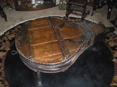 amazing bellows coffee table!