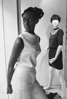 Princess Elizabeth of Toro, the Cambridge-educated attorney and former foreign minister from Uganda in her modeling days in February 1974. During her modeling career, she appeared in Vogue and Harper's Bazaar among other high profile publications. But, her political career was far more interesting. Photo: Hulton-Deutsch Collection/Corbis.