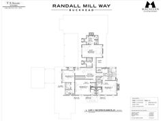 Randall Mill Way is an exclusive enclave of 5 exceptional, 1+ acre custom home sites accessible from a new cul-de-sac off Randall Mill Rd. This home will sit on a large, private lot in one of the most sought after locations in Buckhead with excellent schools, shopping/dining and access to I-75 within a 2 mile drive. Macallan Custom Homes has carefully selected renowned T.S. Adams Studio, a high-end, full-service architecture firm, to design this extraordinary, one-of-a-kind home. Now is ...