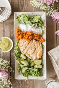 Sneak Peek Recipe inside Juli Bauer's Paleo Cookbook: Thai Coconut Chicken Salad #paleomg #julibauerspaleocookbook